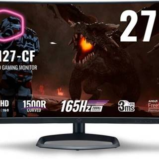 "Herný monitor Cooler Master GM27-CF, 27 "", 165 Hz, 3 ms"