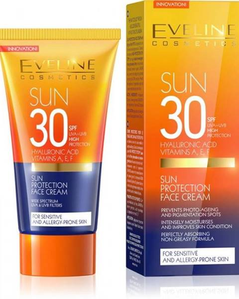 EVELINE SUN PROTECTION krém na tvár SPF30  50 ml